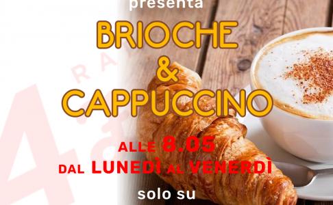 08:05 Brioche & Cappuccino